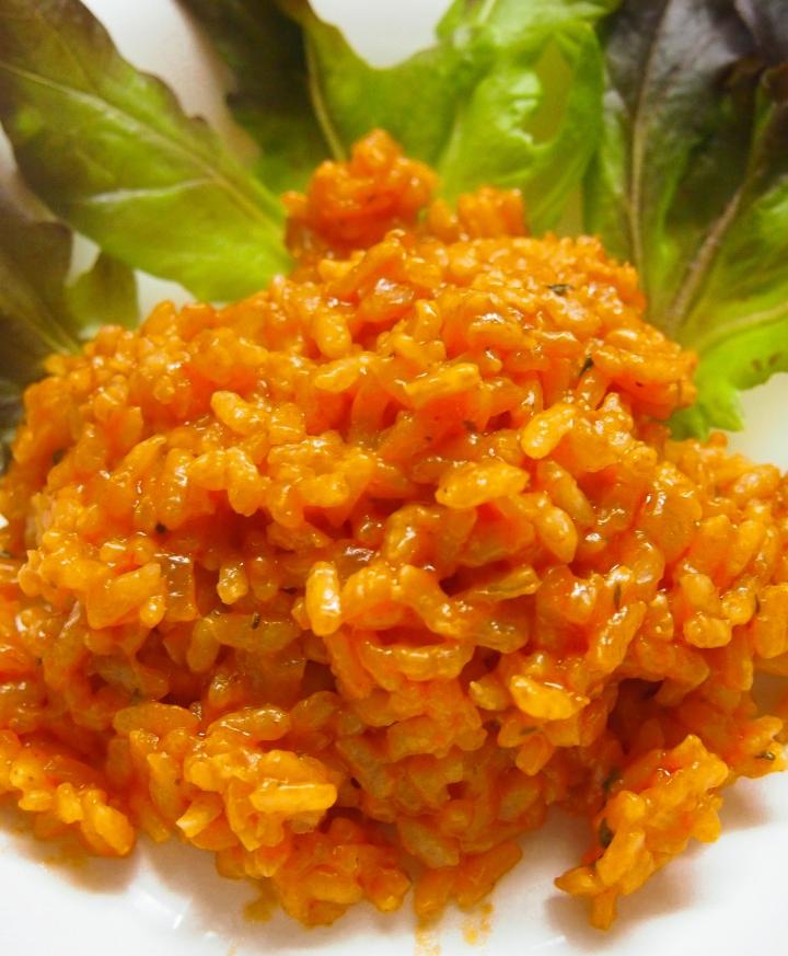 Tomaattirisotto