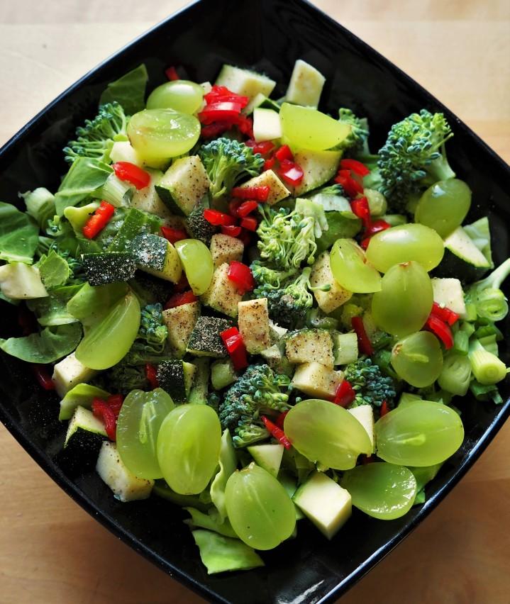Viisi raikasta salaattia