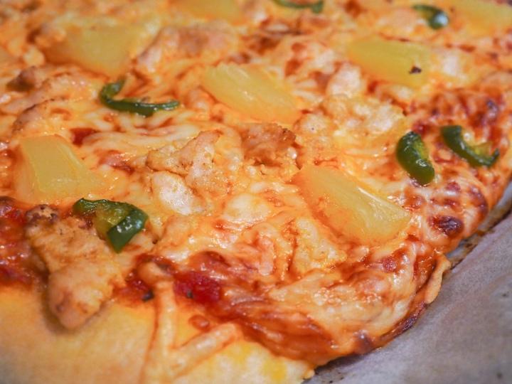 Astetta tulisempi pizza